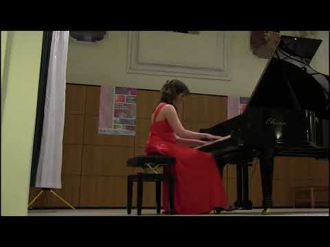 Blandine Waldmann plays BRAHMS Variations on a theme by Paganini op.35 book II
