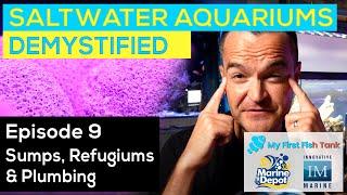 Saltwater Aquariums Demystified Ep. 9: Sumps, Refugiums and Plumbing
