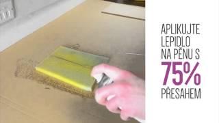 TensorGrip F20 - rychleschnoucí lepidlo na pěnové materiály a čalounění (CZ)