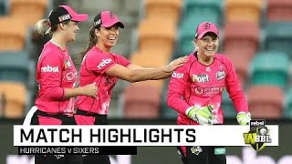 Gardner powers Sixers to victory in Hobart | Rebel WBBL|04