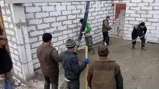 Как залить стяжку пола с помощью бетононасоса за 10 минут Часть №2(, 2017-11-06T08:05:36.000Z)