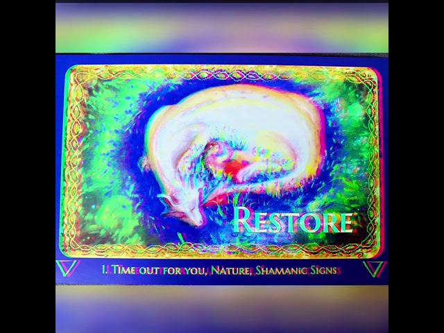 Restore Message & Activation
