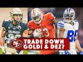 LIVE! 2018 NFL Draft: Will The 49ers Trade Down & Is Dez Bryant A Fit?