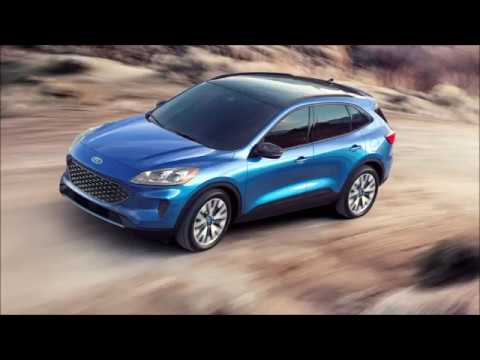 2020 Ford Escape (Kuga) Interior Exterior and Drive