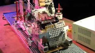 Turing machine made from scrap metal