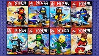 LEGO Ninjago Spinjitzu Master robes Minifigures (knock-off) P8001