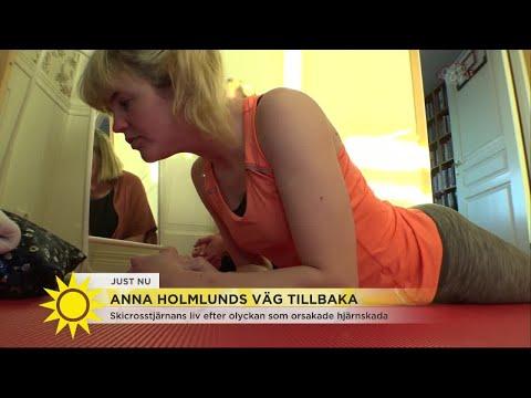 """Anna Holmlunds pappa om vägen tillbaka efter olyckan: """"Hennes livs tuffaste match"""" - Nyhet"""