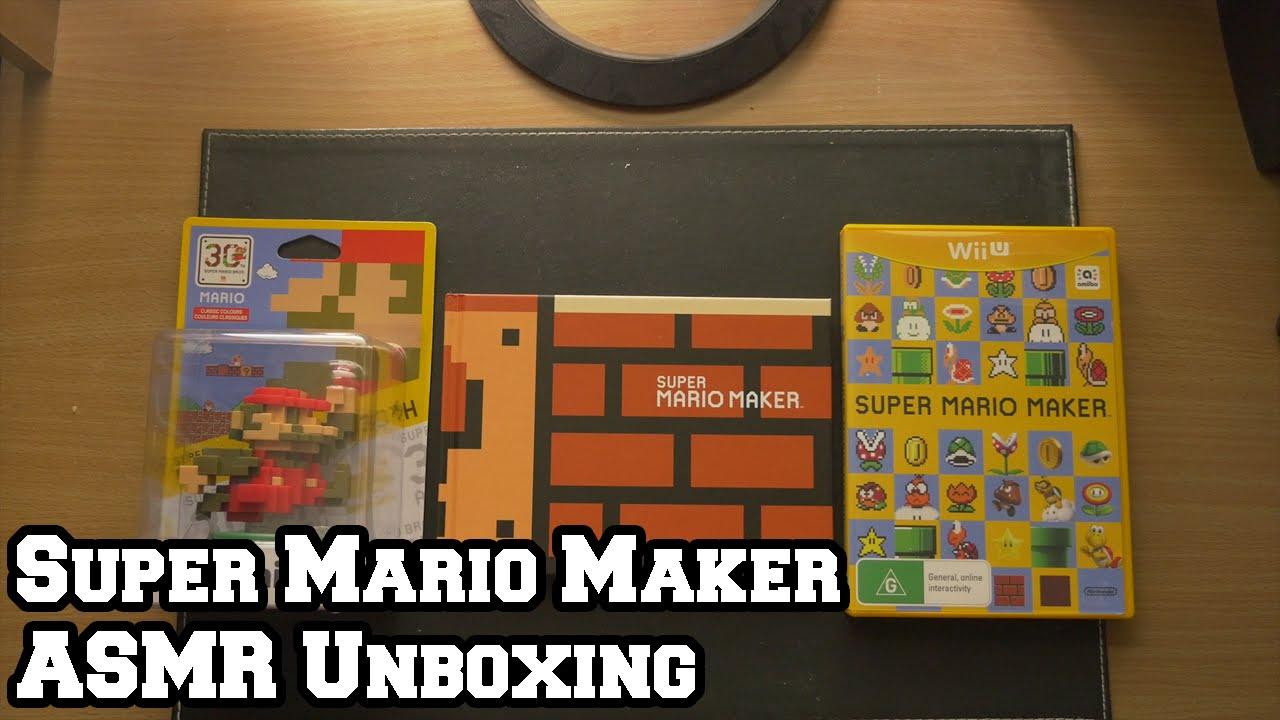 Super Mario Maker Bundle Unboxing (Soft Spoken) - YouTube