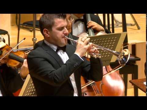 Haydn Trumpet Concerto  Ottaviano Cristofoli, Japan Philarmonic Orchestra