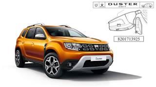 New Dacia Duster 2018 Digital Video Recorder (traffic DVR) installation tutorial