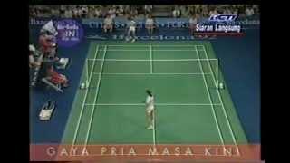 Video Final Bulutangkis Tunggal Putri Olimpiade - Susi Susanti VS Bang Soo Hyun @ RCTI 1992 (Part 1) download MP3, 3GP, MP4, WEBM, AVI, FLV November 2017