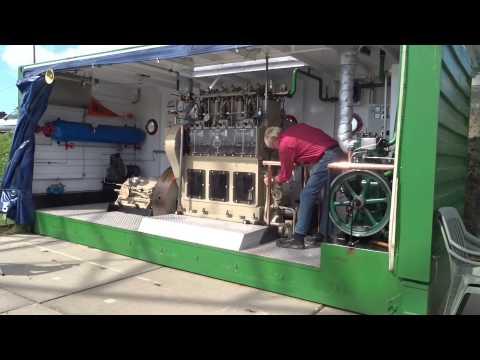 Wim de Waard demonstreert Lister en Industrie