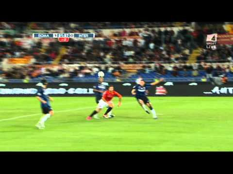 2010-2011 AS Roma - FC Inter 1-0 Vucinic Commento Di Zampa