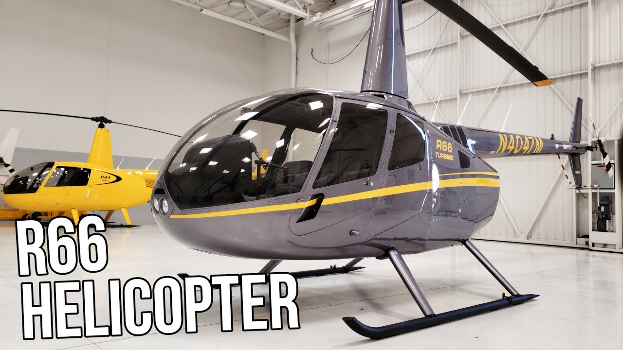 The 2019 Robinson R66 Turbine Helicopter