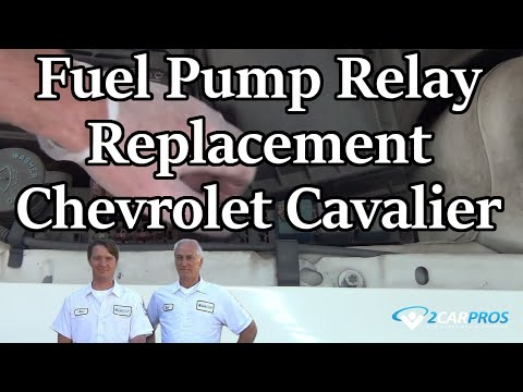 Fuel Pump Relay Replacement Chevrolet Cavalier 1995-2005 - YouTube