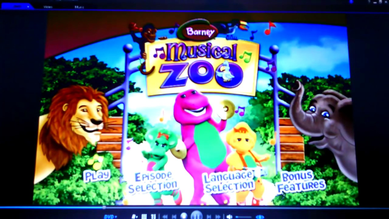 Barney Musical Zoo Youtube
