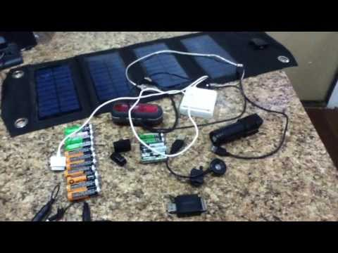 Smallest Practical Solar Generator System Approach Using USB Solar Panel