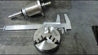 Токарный патрон 63 мм с Aliexpress. Mini lathe chuck