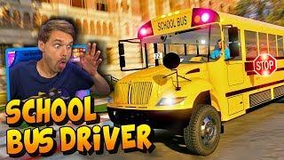GTA 5 REAL LIFE MOD School Bus Driver | #GTA5 #GTA5RealLifeMod #GrandTheftAuto5