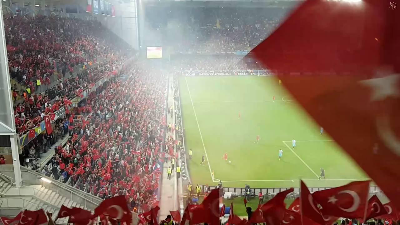 Türkiye -  Çek Cumhuriyeti  2-0 Ikinci gol ve sevinci