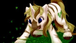 SPEED PAINT: My Little Pony - Lucky Stripes