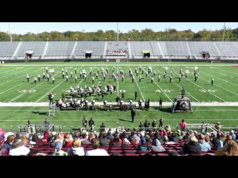 CCHS Marching Terriers at SIU Music & Motion 2015