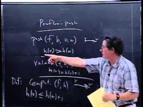 Time Analysis for the Preflow-Push Algorithm