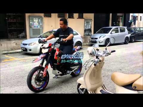Kawasaki Dtracker X250 Bazzaz ZFI - Motodynamics Technology Malaysia