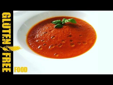 Italian fresh tomato soup - gluten free recipe