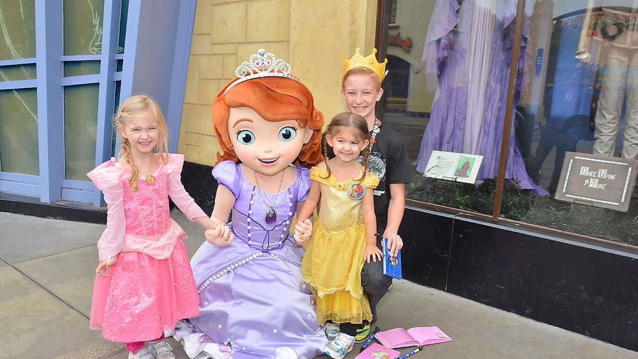 Meet And Greet With Princess Sofia The First Disneyland California