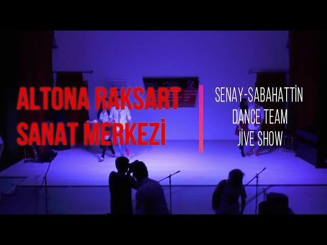 Altona Raksart Yıl Sonu Gösterisi 2018 - Senay - Sabahattin Dance Team Jive Show