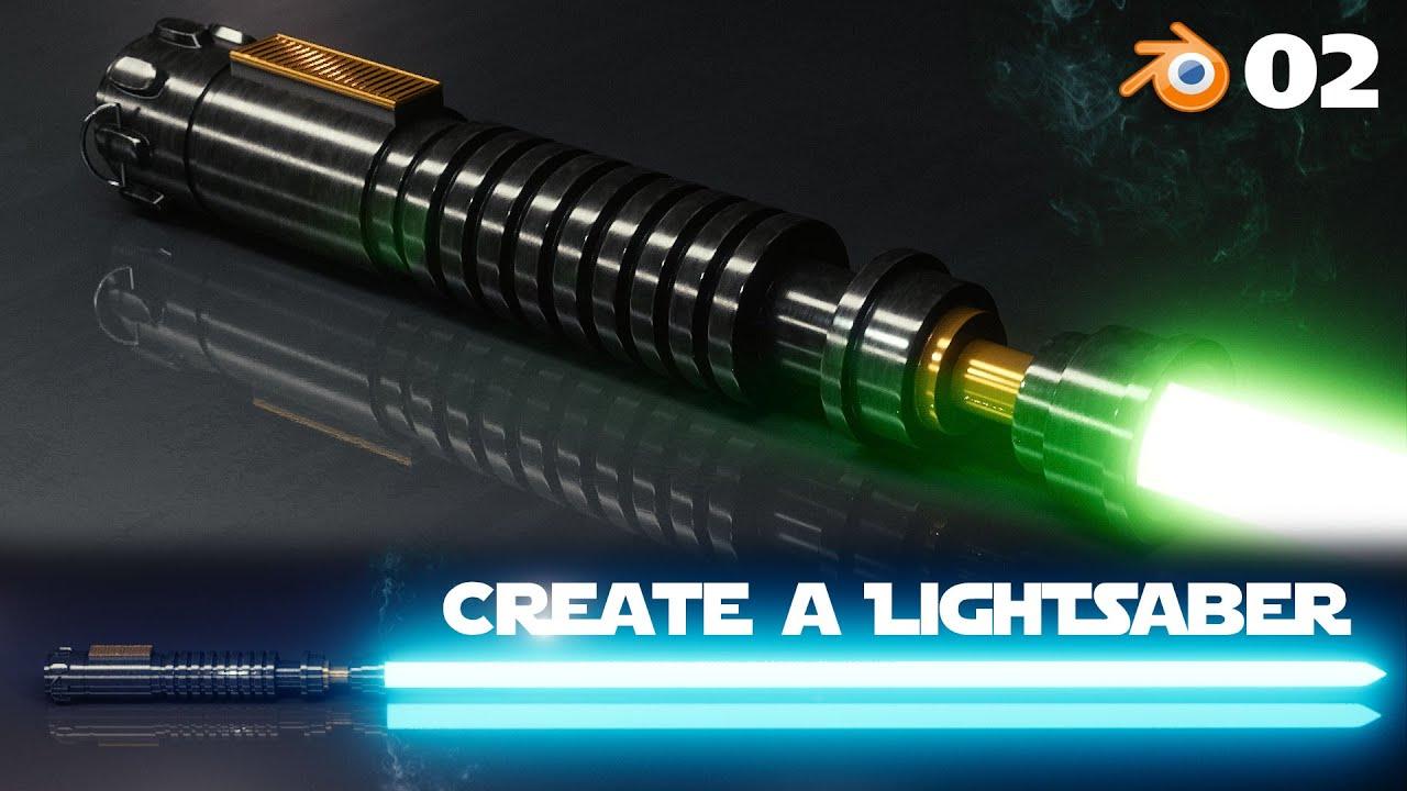 Blender Beginner Tutorial Create A Lightsaber 2 Of 2
