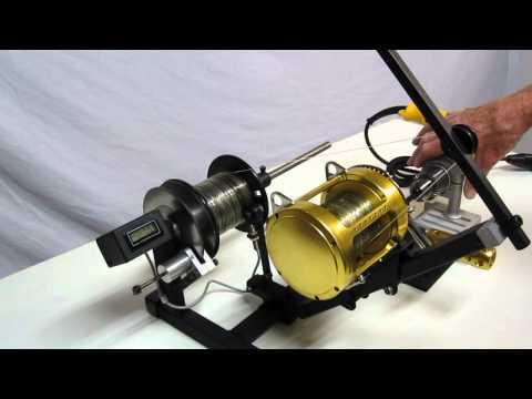 line spooler motorized with disk brake
