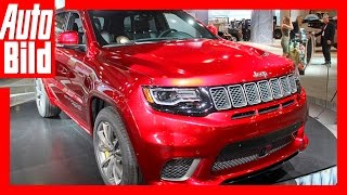 Jeep Grand Cherokee Trackhawk (NYIAS 2017) Details