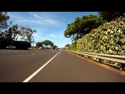 Kapalua to Lahaina bike ride