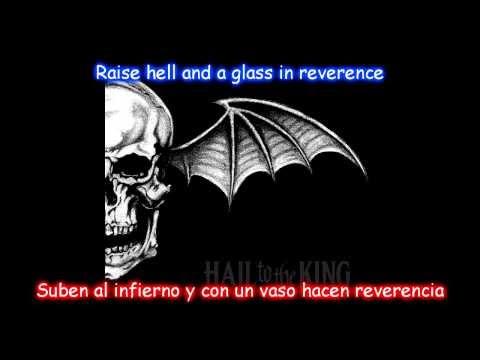 Avenged Sevenfold-St.James lyrics ingles-español [HD]