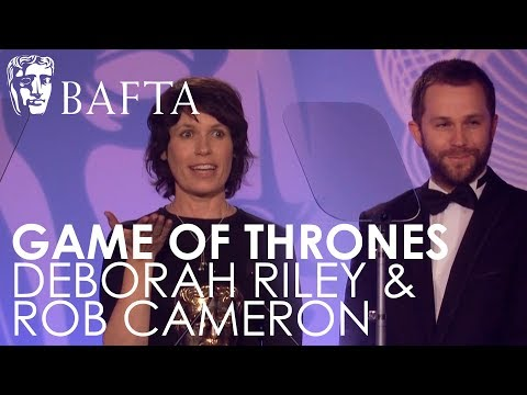 Deborah Riley and Rob Cameron win Production Design for Game of Thrones | BAFTA TV Craft Awards 2018