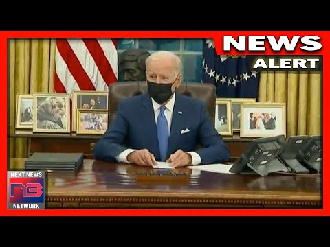 WATCH: Biden SURRENDERS America With 3 New EO's Then RUNS When Press Asks About What He's Just Done