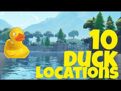 All Rubber Ducks In Fortnite Quot Search Rubber Duckies