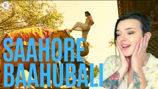 Saahore Baahubali Full Video Song AMERICAN REACTION!!