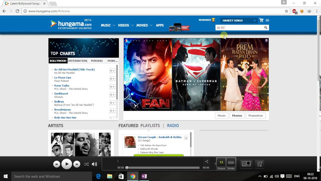 hungama music app download for pc
