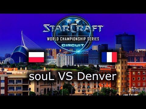 souL VS Denver - TvZ - Group Stage 2 - WCS Valencia 2018 - polski komentarz