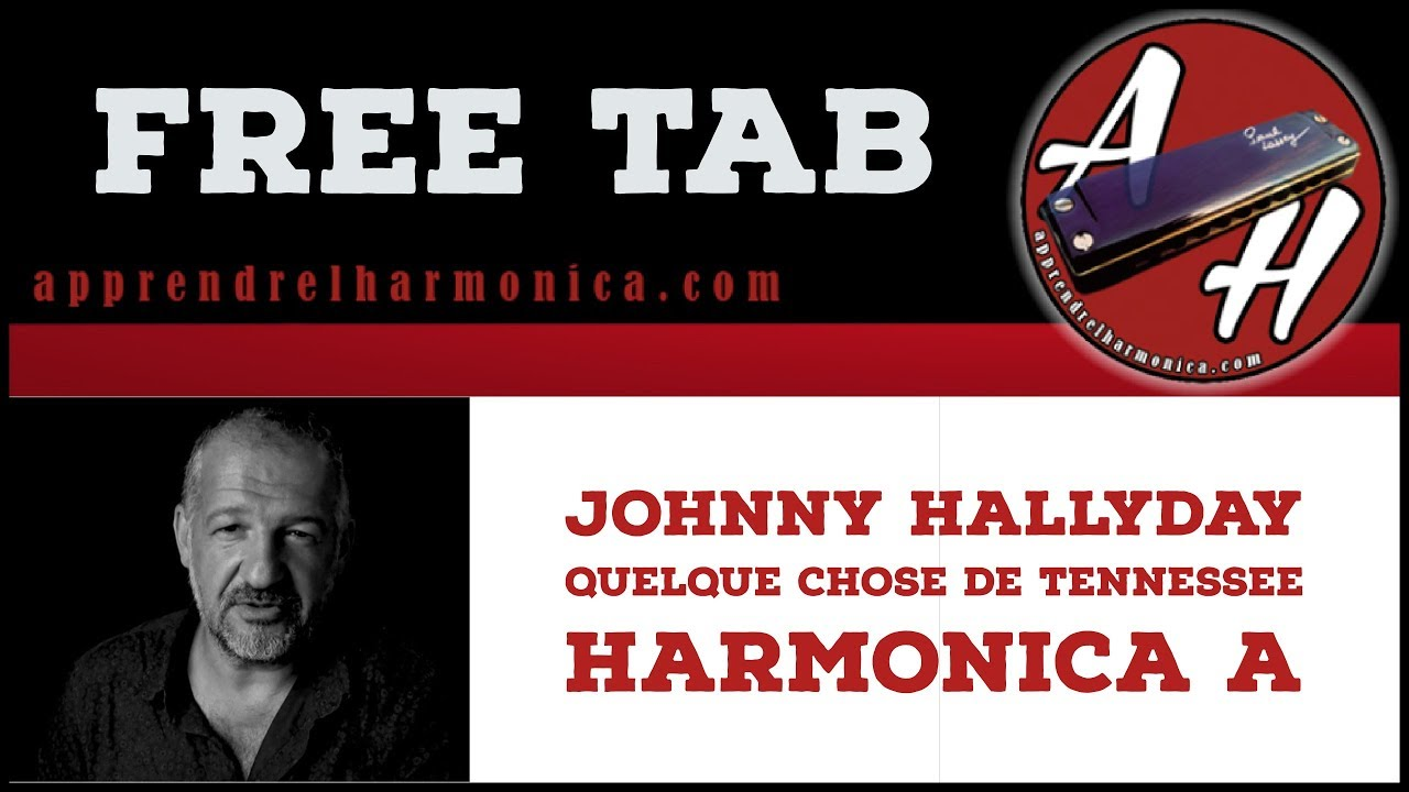johnny hallyday quelque chose de tennessee harmonica a youtube. Black Bedroom Furniture Sets. Home Design Ideas
