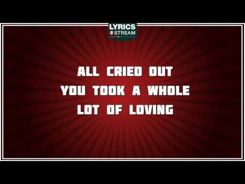 All Cried Out - Alison Moyet Tribute - Lyrics