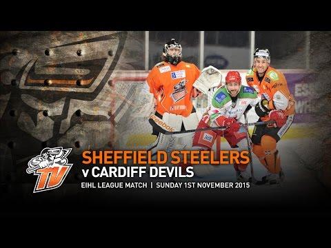 Sheffield Steelers v Cardiff Devils - EIHL - Sunday 1st November 2015