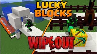 WIPEOUT + LUCKY BLOCKS! con sTaXx