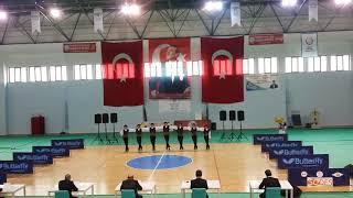 Gümüşhane Teknik lisesi erkek halk oyunları ekibi 2018 il yarışmaları