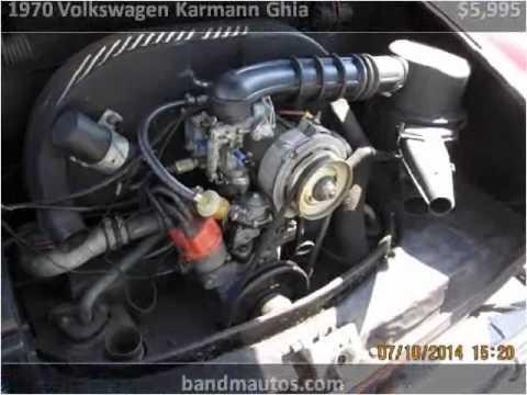 1970 Volkswagen Karmann Ghia Used Cars Toms River NJ