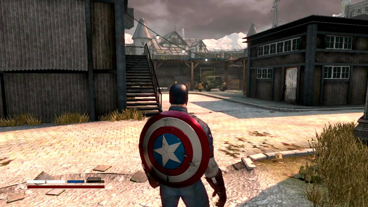 captain america free games