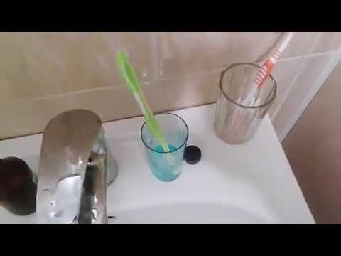 Дезинфекция зубных щёток два простых способа